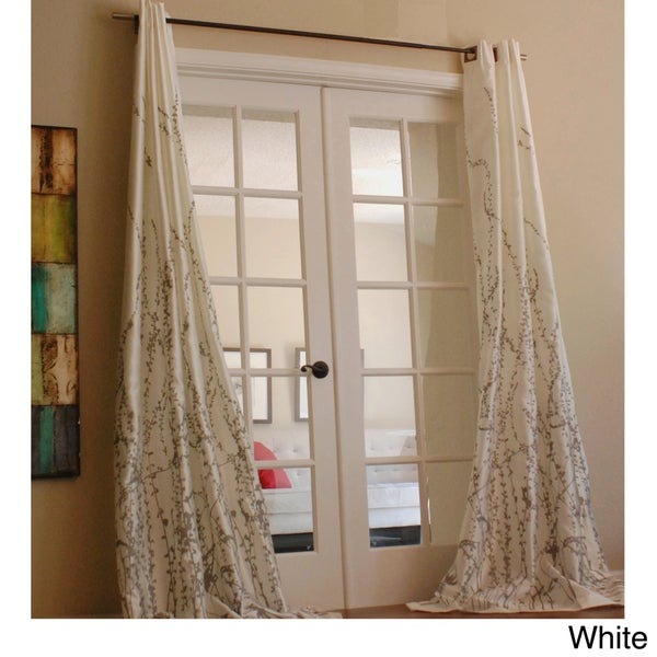 Lara 96-inch Shimmer Panel Window Curtain