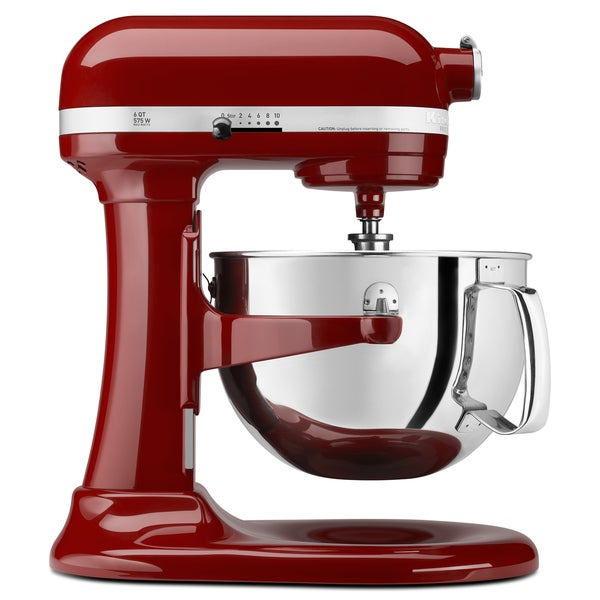 Shop Kitchenaid Rkp26m1xgc Gloss Cinnamon 6 Quart Pro 600
