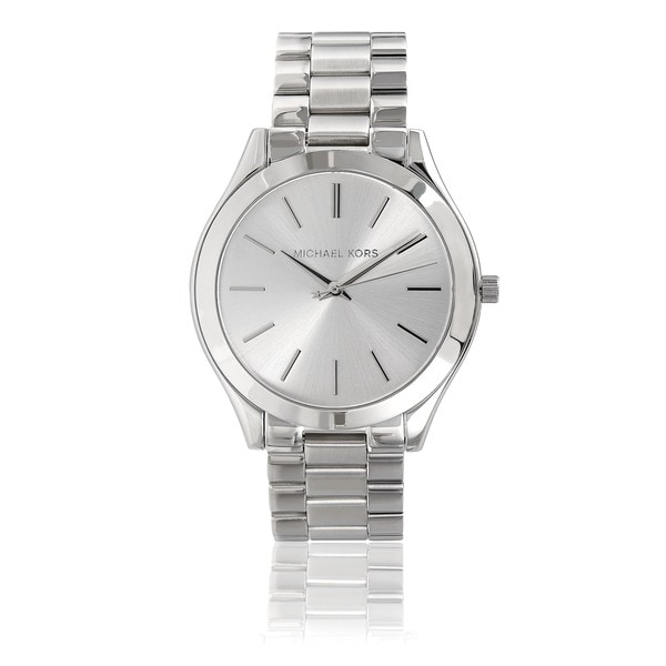 4accebb4ec46 Shop Michael Kors Women s MK3178 Stainless Steel  Runway  Watch ...