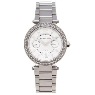 Michael Kors Women's MK5615 Parker Glitz Stainless Steel Watch