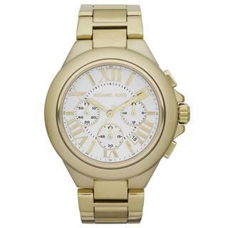 bfa491152a22 Michael Kors Women s MK5635 Camille Gold-Tone Chronograph Watch