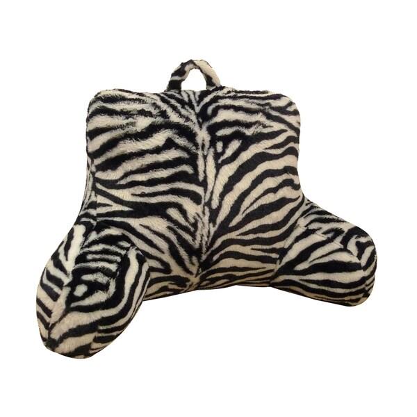 Zebra Animal Fur Bedrest/ Lounger