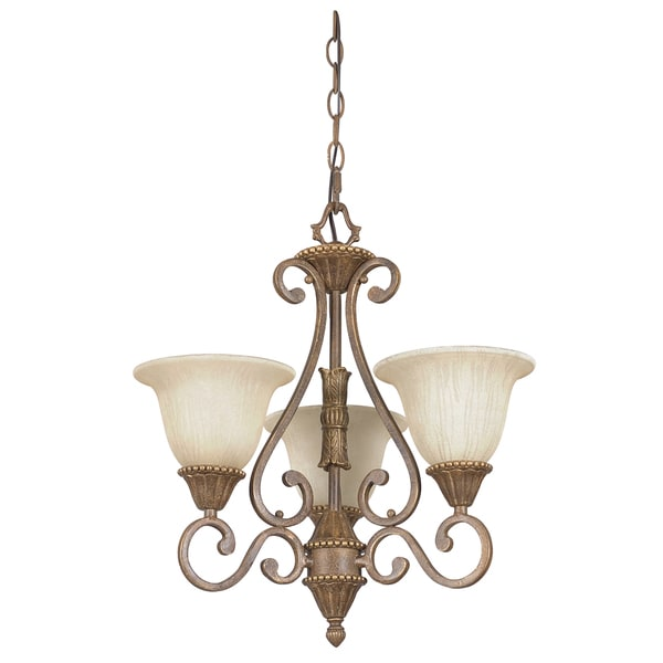 Nook 3-light Siena Pendant Light