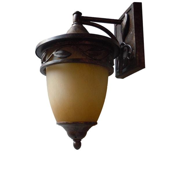 Venetian Bronze One-light Wall Lantern