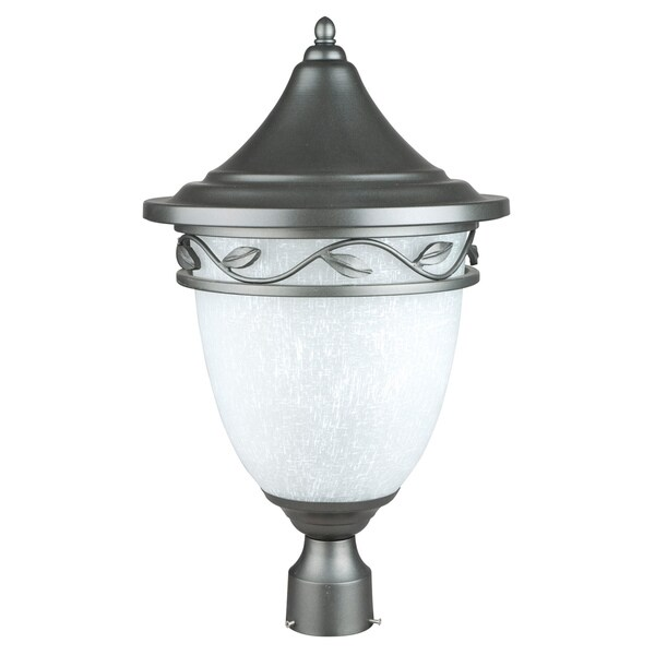 Natural Iron One-light Post Lantern