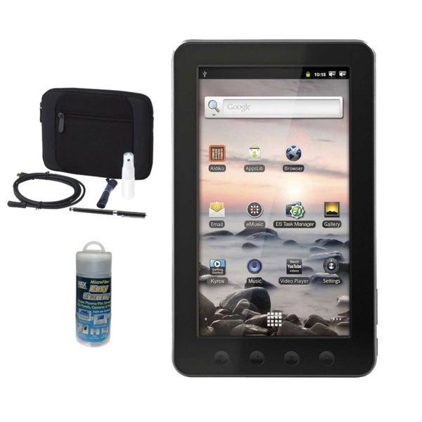 "Coby Kyros MID7012-4G 4GB 7"" Tablet with Kit"