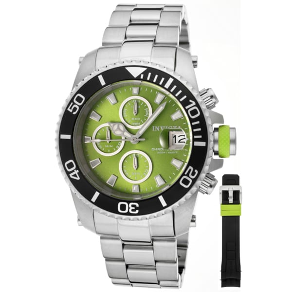 Invicta Men's 'Pro Diver/Classic' Stainless Steel Watch