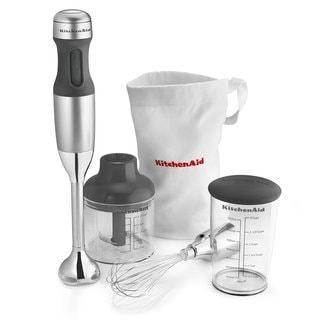 KitchenAid 3 Speed Immersion Blender Silver