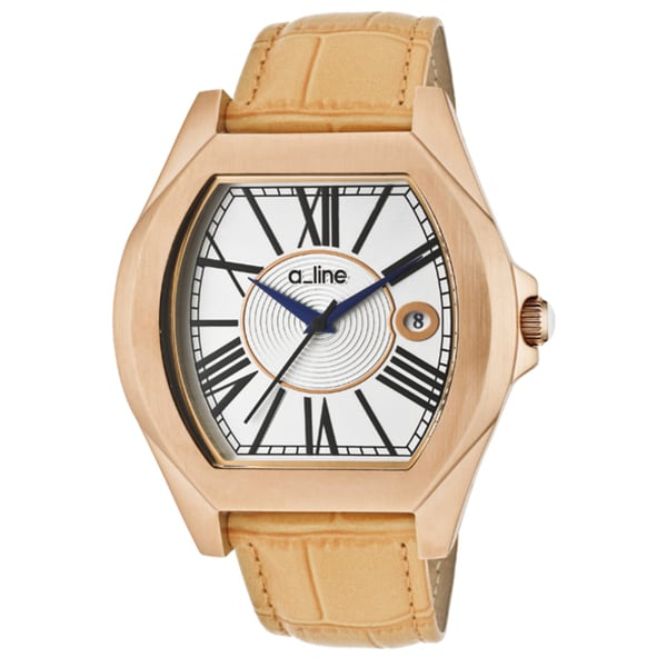 a_line Women's 'Adore' Tan Genuine Leather Watch