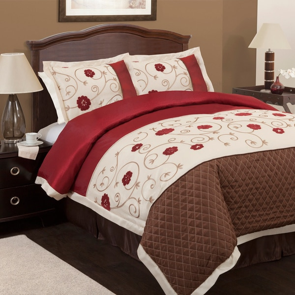 Lush Decor Royal Embrace 4-piece Comforter Set