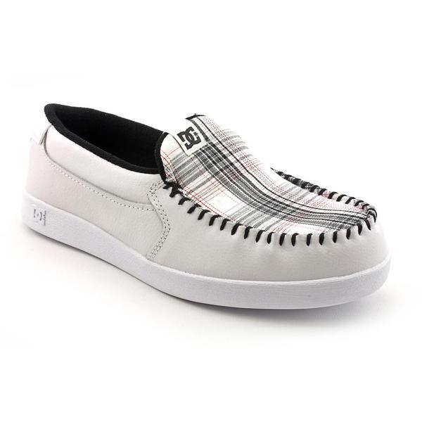 DC Men's 'Villain' Leather Casual Shoes