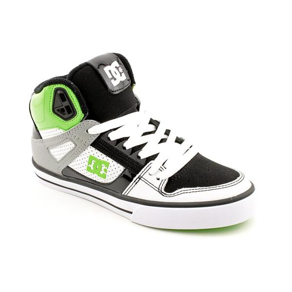 DC Boy's 'Spartan HI WC' Leather Casual Shoes