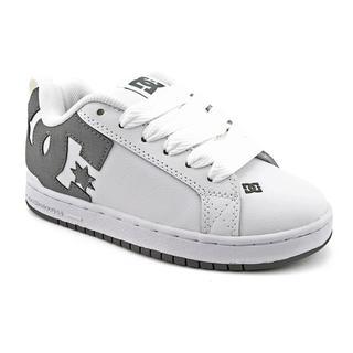 DC Boy's 'Court Graffik' Nubuck Athletic Shoe