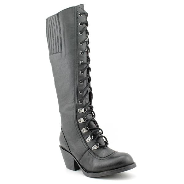 7064251e38d Shop Rocket Dog Women s  Rachel  Faux Leather Boots - Free Shipping ...
