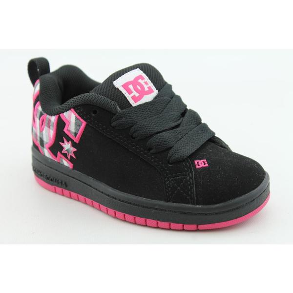 DC Girl's 'Court Graffik SE' Leather Athletic Shoe