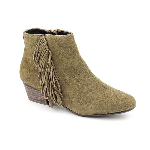 Kelsi Dagger Women's Green 'Trilogy' Regular Suede Boots