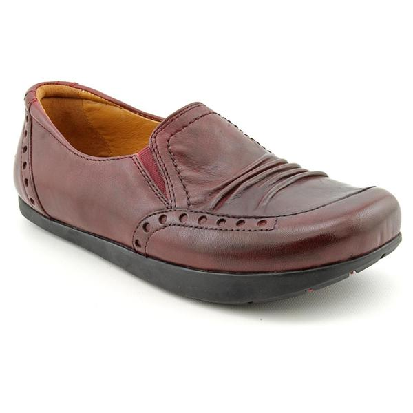Kalso Earth Women's 'Shake' Burgundy Full-Grain Leather Casual Shoes