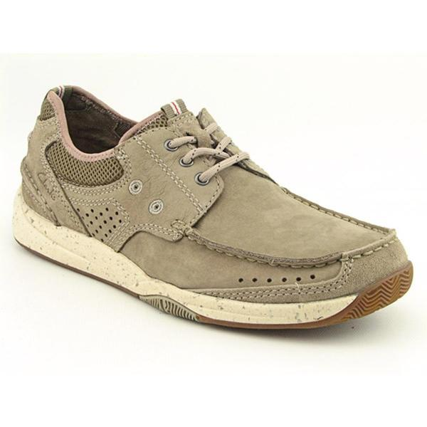 Clarks Men's 'Saranac' Nubuck Casual Shoes
