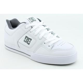 DC Men's 'Pure' Leather Athletic Shoe