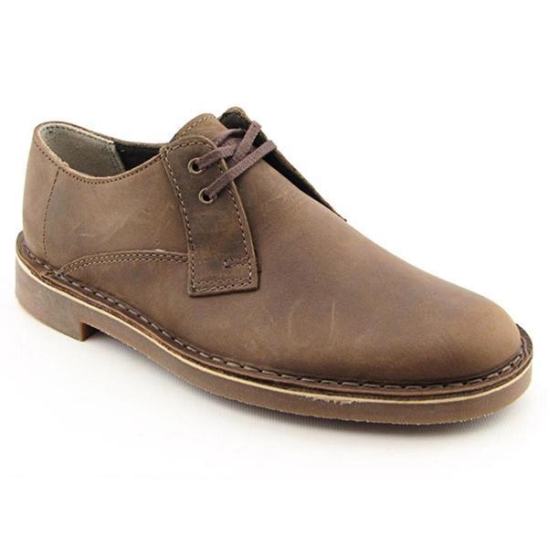 Clarks Men's 'Bushacre Lo' Leather Casual Shoes