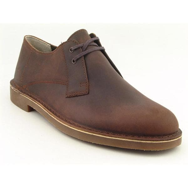 Clarks Men's 'Bushacre Lo' Leather Casual Shoes
