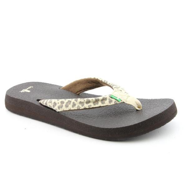 Sanuk Women's 'Yoga Wildlife' Basic Textile Sandals