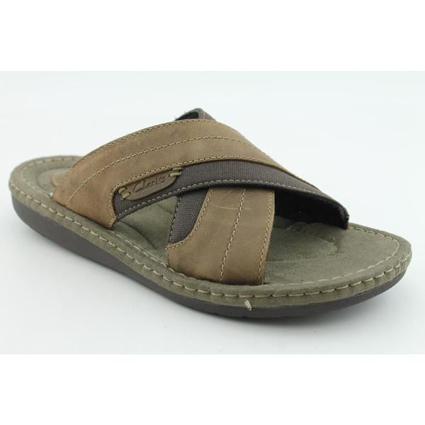 Clarks Men's 'Terminal' Nubuck Sandals