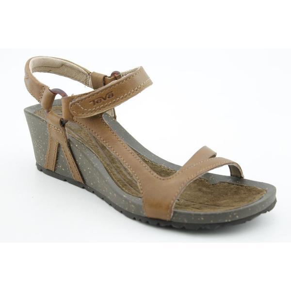 Shop Teva Women S Cabrillo Universal Wedge Leather