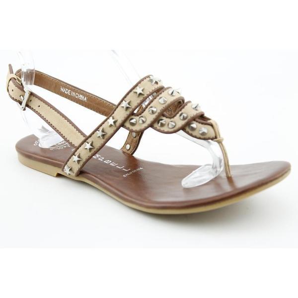 Jeffrey Campbell Women's 'Tier-Spk' Leather Sandals