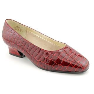 David Tate Women's 'Fresh' Leather Dress Shoes - Extra Wide (Size 7.5)