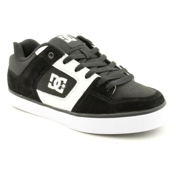 DC Boy's 'Pure' Leather Athletic Shoe
