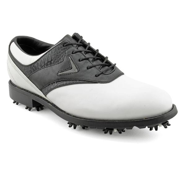 Callaway Golf Men's 'FT Chev Saddle' Leather Athletic Shoe - Wide