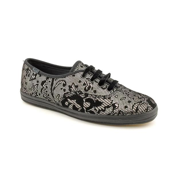 Keds Women's 'Champion Metallic Lace' Basic Textile Casual Shoes