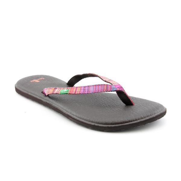 Sanuk Women's 'Yoga Spree Funk' Basic Textile Sandals