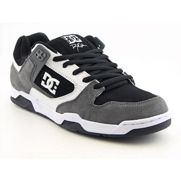 DC Boy's 'Flawless' Leather Athletic Shoe (Size 6)