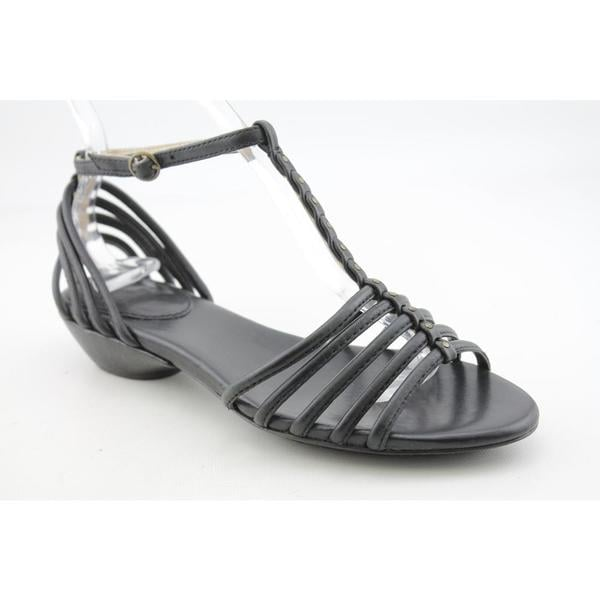 Frye Women's 'Naomi Strappy T' Leather Sandals (Size 9.5)