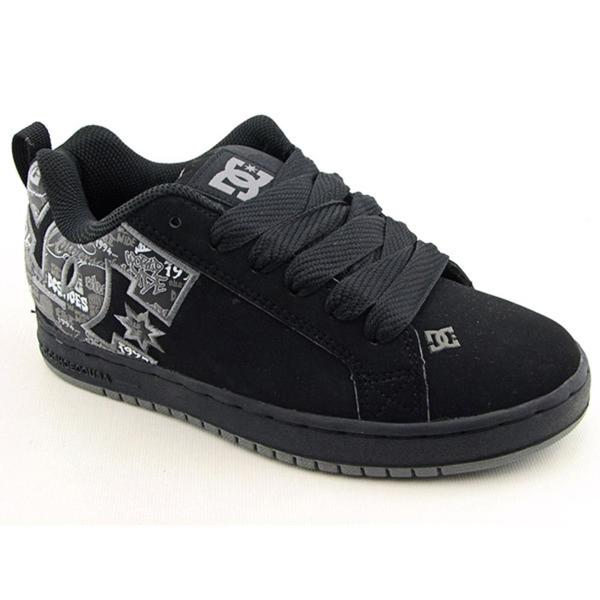 DC Boy's 'Court Graffik SE' Nubuck Athletic Shoe (Size 3)
