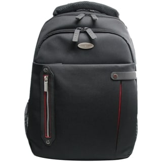 "ECO STYLE Carrying Case (Backpack) for 16.4"" Notebook - Red, Black"