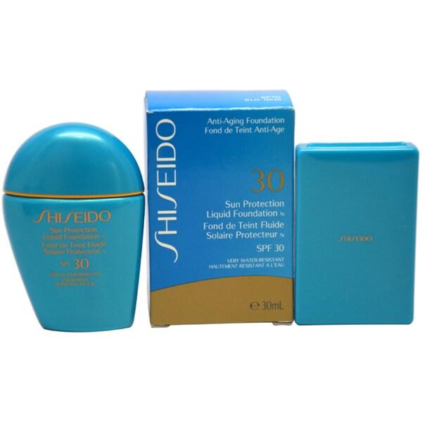 Shiseido SPF30 Sun Protection 1-ounce Liquid Foundation