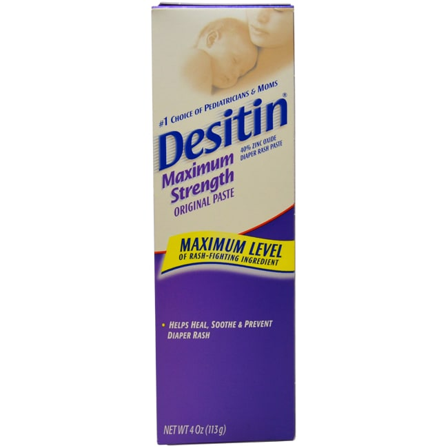 JOHNSON & JOHNSON Desitin Diaper Rash Maximum Strength Or...