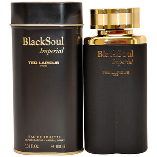 Ted Lapidus 'Black Soul Imperial' Men's 3.33-ounce Eau de Toilette Spray
