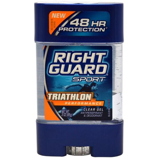 Right Guard Sport Triathlon Performance Clear Gel Deodorant Stick