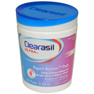 Clearasil Rapid Action 90-count Pads