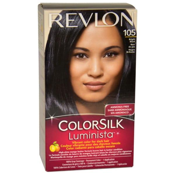 Revlon Colorsilk Luminista #105 Bright Black Hair Color