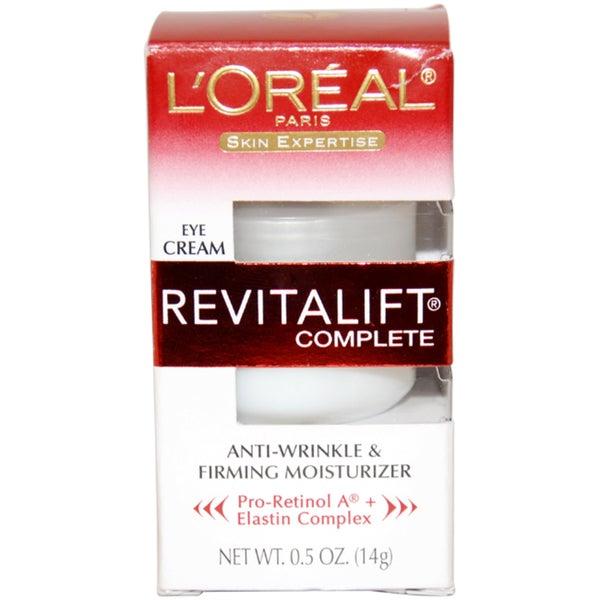 L'Oreal Skin Expertise RevitaLift Anti-Wrinkle Firming Moisturizer 0.5-ounce Eye Ceam