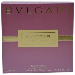Bvlgari Omnia Amethyste Women's 0.84-ounce Eau de Toilette Spray