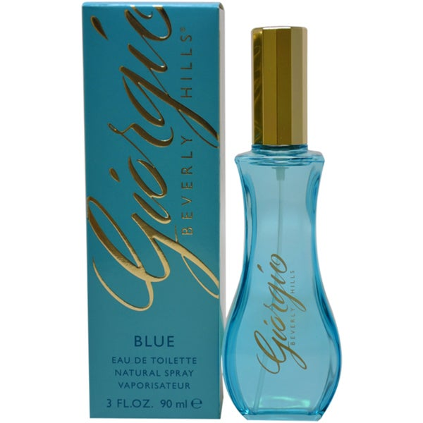 Giorgio Beverly Hills Blue Women's 3-ounce Eau de Toilette Spray