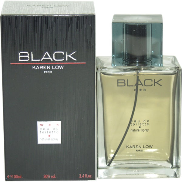 Karen Low Black Men's 3.4-ounce Eau de Toilette Spray