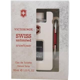 Swiss Army Swiss Unlimited Snowflower Women's 1-ounce Eau de Toilette Spray https://ak1.ostkcdn.com/images/products/7466957/P14915076.jpg?impolicy=medium