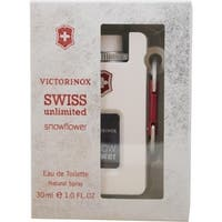 Swiss Army Swiss Unlimited Snowflower Women's 1-ounce Eau de Toilette Spray